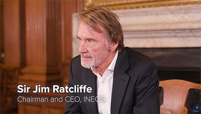 Jim Ratcliffe still from the INEOS film
