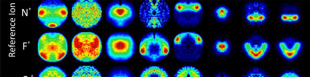 Photo of experimental ion images