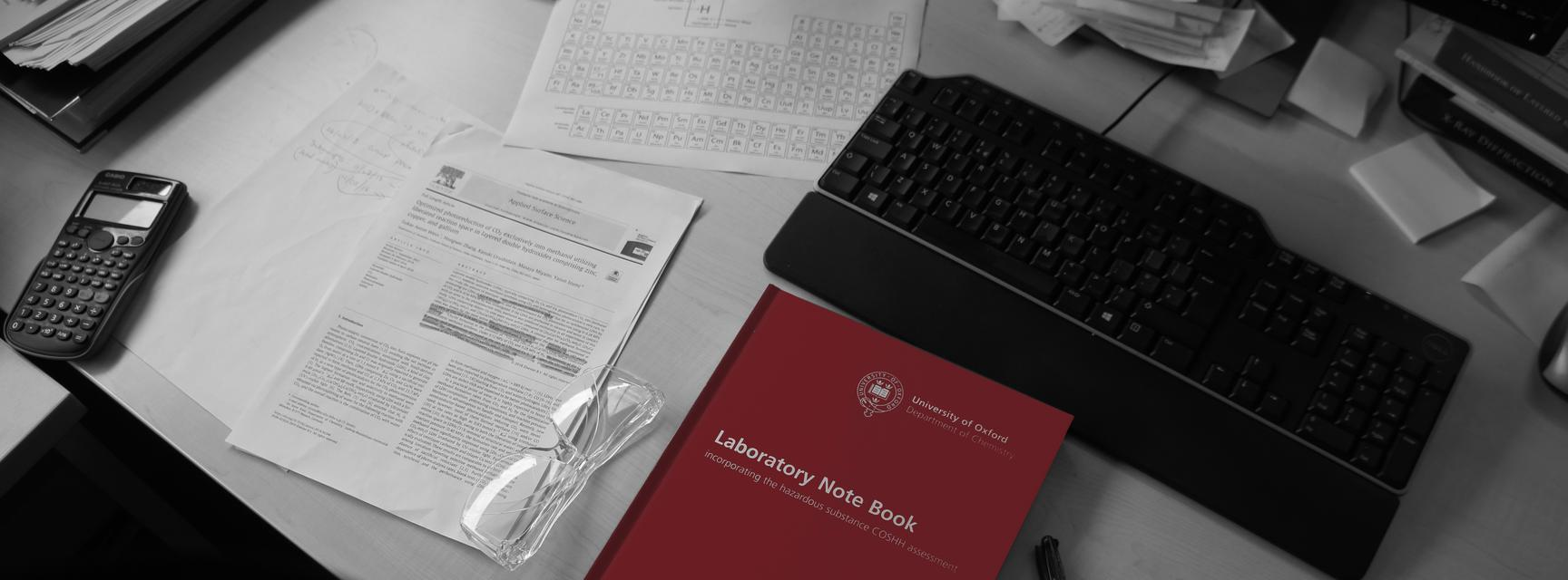 laboratory note book