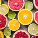 Picture of cut citrus fruit