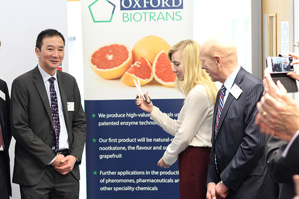 Oxford Biotrans banner with Luet Wong