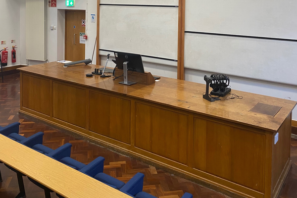 Photo of ICL lecture theatre