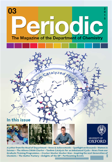 Photo of the cover of Periodic Magazine, issue 3
