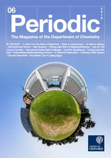 Photo of the cover of Periodic Magazine, issue 6